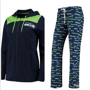 Seattle Seahawks Branded Women's Hoodie &  Pants
